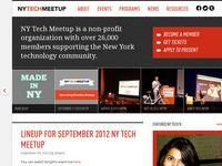 NYTM - New York Tech Meetup
