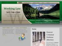 Denver Criminal Defense Attorney Rob Werking