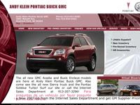 Andy Klein Pontiac Buick GMC