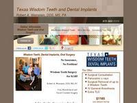 Texas Wisdom Teeth and Dental Implants
