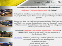 Easy Credit Auto Sales, Inc.